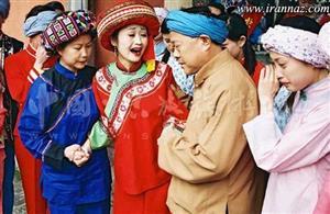 رسم عجیب دختران چینی برای شب عروسی + عکس