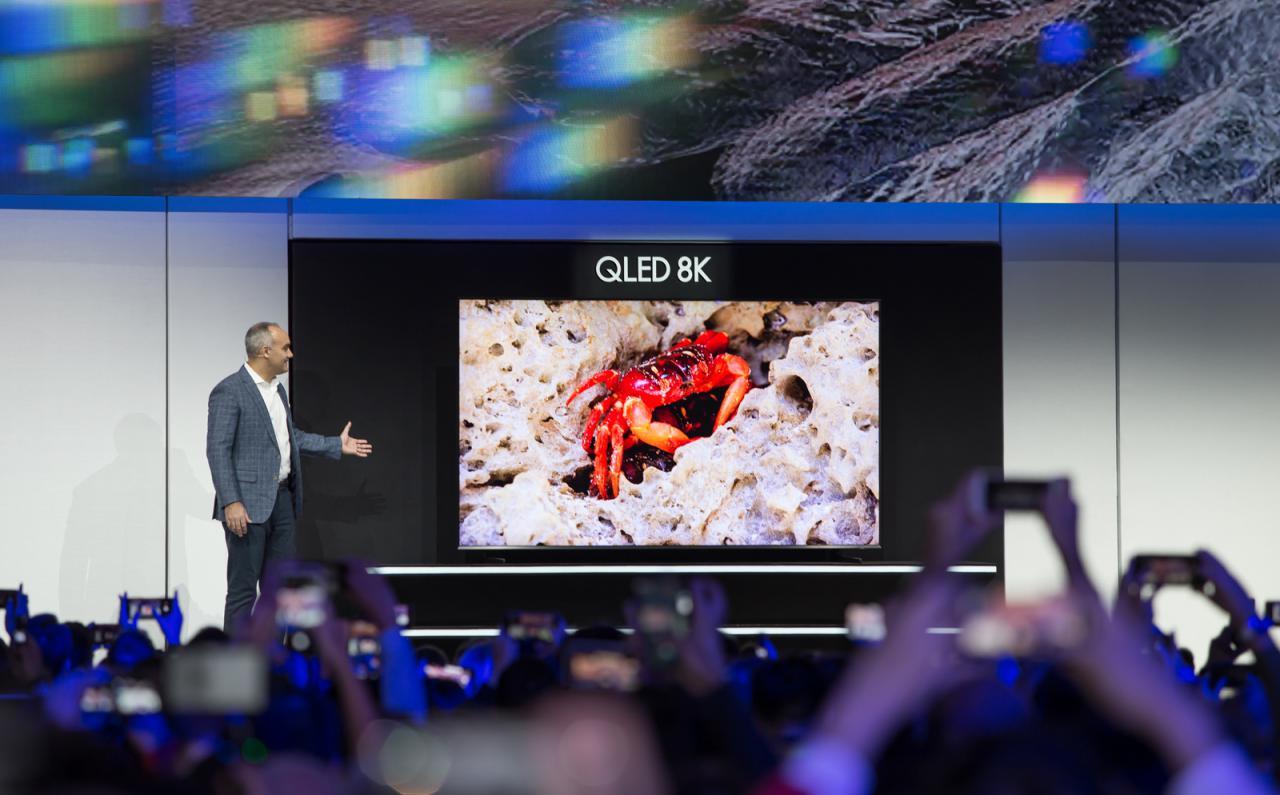 سامسونگ راه حل ترکیبی هوش مصنوعی، 5G و اینترنت اشیا را در CES رونمایی کرد