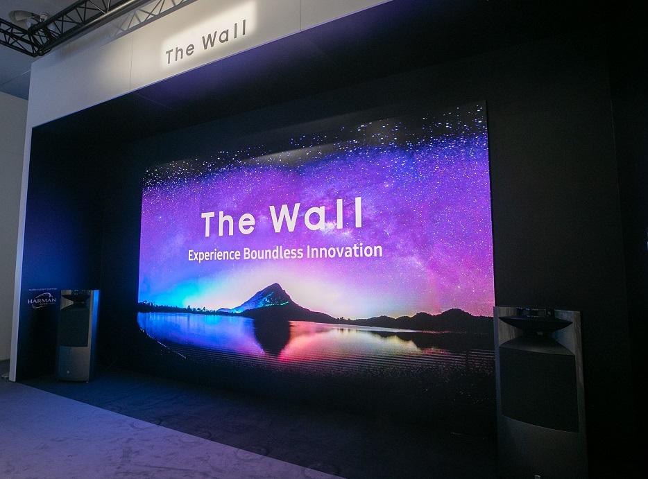 رونمایی از نمایشگرهای تجاری 8K سامسونگ در نمایشگاه ISE 2019